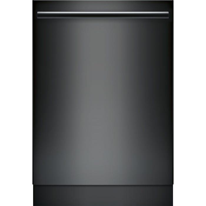 Bosch 24 Inch Bar Handle Dishwasher in Black SHXM78W56N