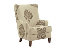 Signature Design by Ashley fabric accent chair in multi-colour beige 898XX21