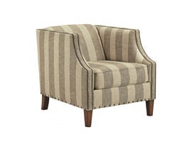 Signature Design by Ashley fabric Accent Chair in multi-colour brown and beige 898XX22