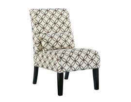 Signature Design by Ashley fabric Annora accent chair in beige and brown multi-colour 6160860