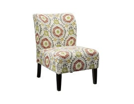 Signature Design by Ashley Honnally Series Floral Fabric Accent Chair in Multi-colour Floral 5330260