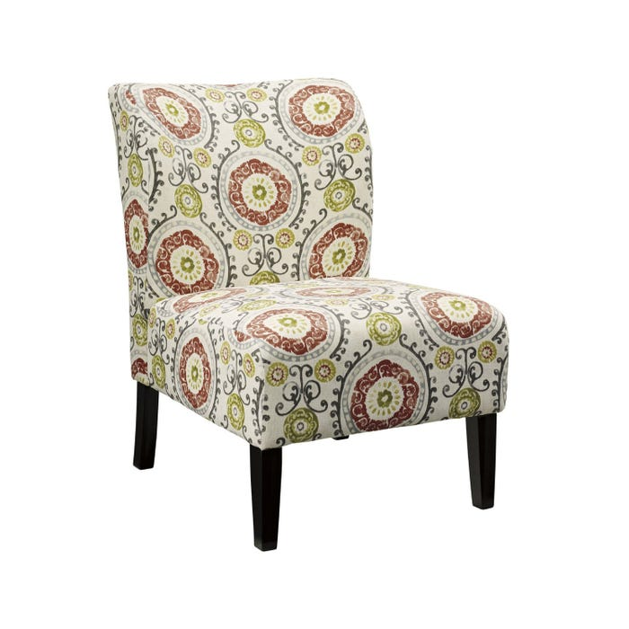 Signature Design by Ashley Fabric Accent Honnally Chair in multi-colour Floral pattern 5330260
