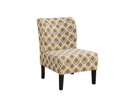 Signature Design by Ashley Fabric Honnally Accent Chair in multi-colour beige gunmetal 5330560
