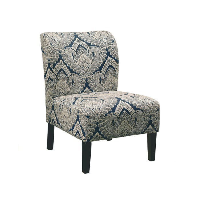 Signature Design by Ashley Fabric Accent Honnally Chair in Sapphire grey 5330360