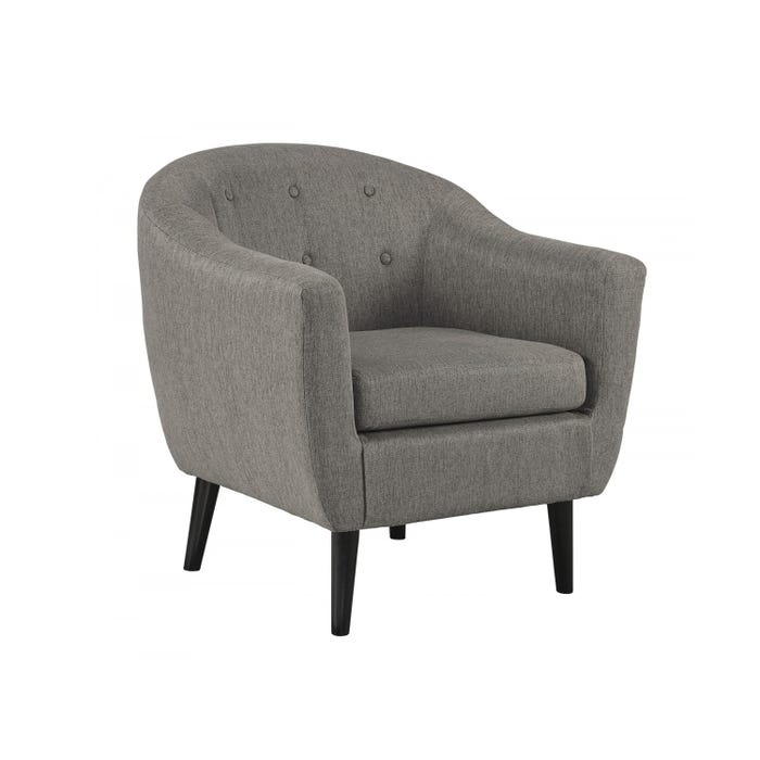 Signature Design by Ashley Fabric Klorey Accent Chair in Charcoal grey 3620821