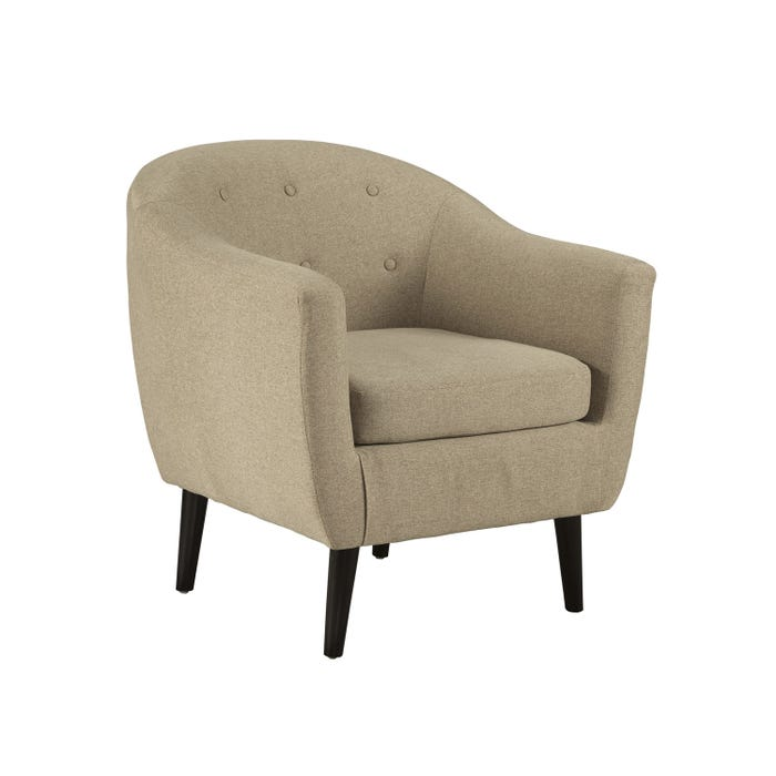 Signature Design by Ashley Fabric Klorey Accent Chair in Khaki brown 3620621