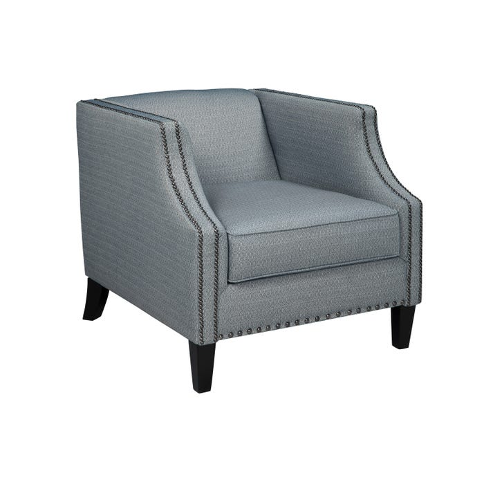 Signature Design by Ashley LaVernia fabric Accent Chair in Navy grey 7130422