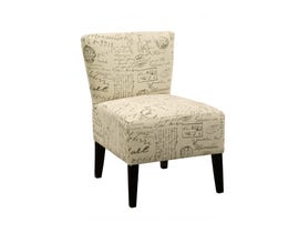 Signature Design by Ashley Fabric Ravity Accent Chair Taupe beige 4630160