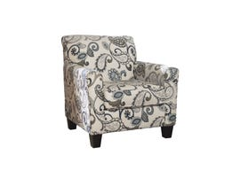 Signature Design by Ashley Yvette-Steel fabric Accent Chair in beige patterned 7790021