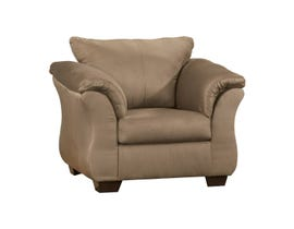 Signature Design by Ashley Darcy Fabric Chair in Mocha Brown 7500220