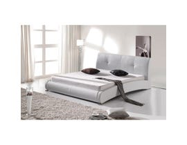 Sinca Sinfonia Queen Platform Bed in white