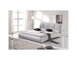 Sinca Sinfonia King Platform Bed in white
