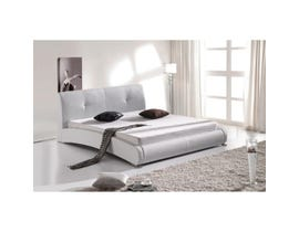 Sinca Sinfonia Platform Bed in White M1676
