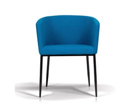 Enzo Studio Design Fabric Tub Chair in Blue SKSD728E10