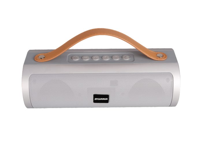 Enjoyable Sylvania Wireless Bluetooth Speaker In Silver Sp495 Gamerscity Chair Design For Home Gamerscityorg