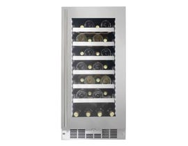 Silhouette Tuscany Series 15 inch 28 Bottle Wine Cooler in Stainless Steel SPRWC031D1SS