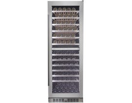 Silhouette Bordeaux Series 24 inch 129 Bottle Wine Cooler in Stainless Steel SPRWC140D1SS