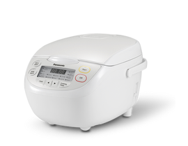 Panasonic 1.0 L Rice Cooker in White SRCN108