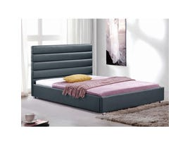 Sinca Sunderland Queen Platform Bed in Grey