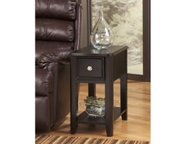 Signature Design by Ashley Breegin wood End Table in brown T007-371