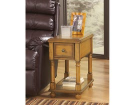 Signature Design by Ashley Breegin wood End Table in brown T007-430