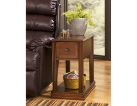 Signature Design by Ashley Breegin End Table in rich brown T007-527