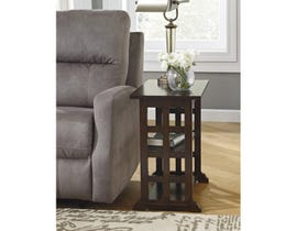 Signature Design by Ashley Braunsen wood End Table in brown T017-477