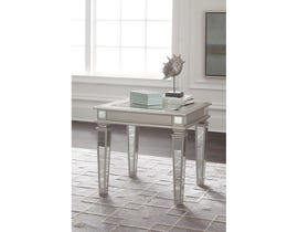 Signature Design by Ashley Tessani mirror Rectangular End Table T099-3