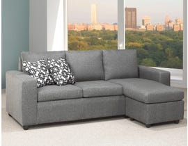 Titus Furniture Reversible Sofa Sectional in Grey Linen T1230