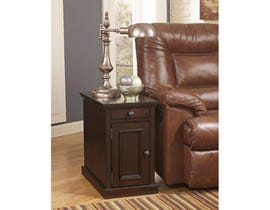Signature Design by Ashley Laflorn wood storage End Table in brown T127-551