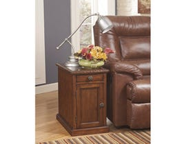 Signature Design by Ashley Laflorn storage End Table in brown T127-553
