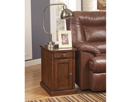 Signature Design by Ashley Laflorn storage End Table in brown T127-565