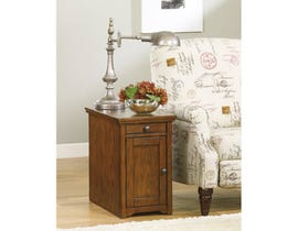 Ashley Signature Design Laflorn wooden End Table in brown T127-699