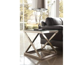 Signature Design by Ashley Coylin wooden Square End Table in steel T136-2