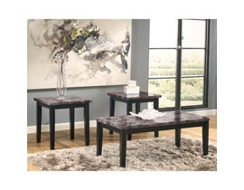 Signature Design by Ashley Maysville 3 piece Occasional Table Set in black T204-13