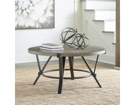 Signature Design by Ashley Zotini Cocktail Table in Light Brown T206-8