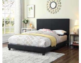Titus Furniture Tufted Full Bed in Black T2110B-D