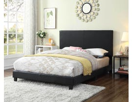 Titus Furniture Tufted Bed in Black T2110B