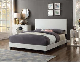 Titus Furniture Tufted Queen Bed in White T2110W-Q
