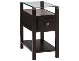 Signature Design by Ashley Diamention Series Chair Side End Table T217-771