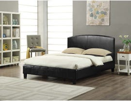 Titus Furniture Platform Bed in Black T2350B