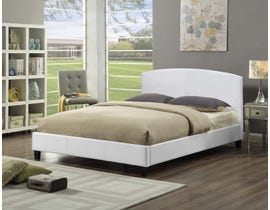 Titus Furniture Platform Full Bed in White T2350W-D