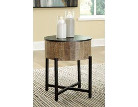 Signature Design by Ashley Nashbryn Series Round End Table T240-6