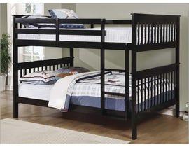 Titus Furniture Full over Full Bunk Bed in Espresso T2502E