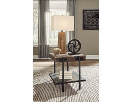 Signature Design by Ashley Bostweil Series  Square End Table T259-2
