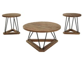Signature Design by Ashley Frielone Series Occational Table Set (3/cn) T261-31