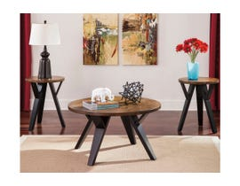 Signature Design by Ashley Ingel Series 3 piece Occasional Table Set Two-tone Brown T267-13