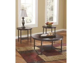 Signature Design by Ashley Sandling Series 3 piece Occasional Table Set T277-13