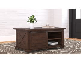 Signature Design by Ashley Camiburg Cocktail Table in Warm Brown T283-1