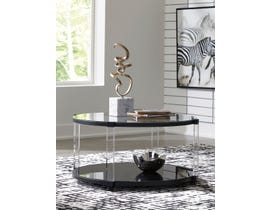 Signature Design by Ashley Delsiny Cocktail Table in Black T289-8